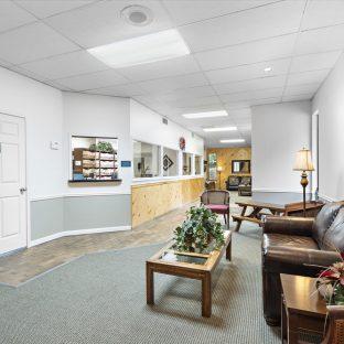 Dental Clinic Waiting Area